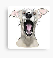 WHAT! Dog Canvas Print