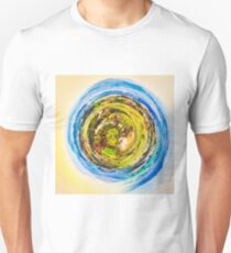 green nature with blue sky  Unisex T-Shirt