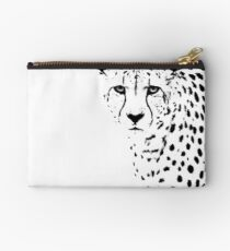 Cheetah Zipper Pouch
