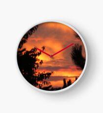 Milwaukee Sunset Clock