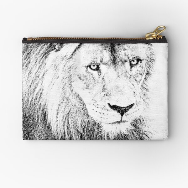 The King Zipper Pouch