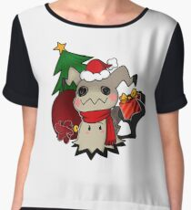 Mimikyo christmas gift Chiffon Top