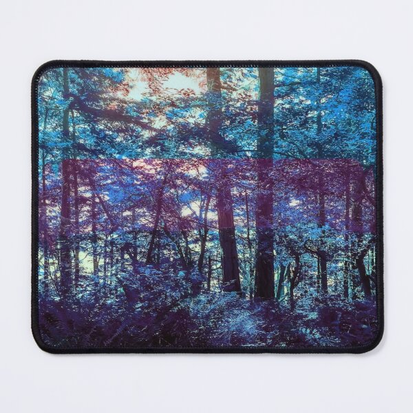 Magical Blues Forest Mouse Pad
