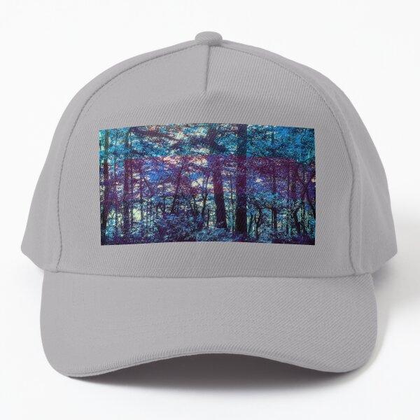 Magical Blues Forest Baseball Cap