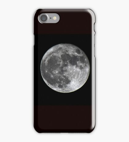 Supermoon iPhone Case/Skin