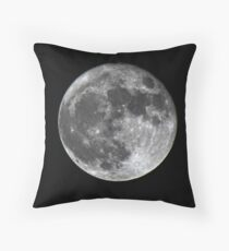 Supermoon Throw Pillow