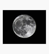 Supermoon Photographic Print