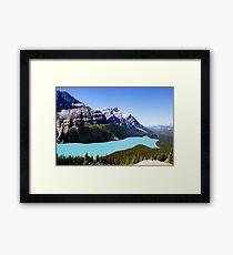 Peyto Lake, Canada Framed Print