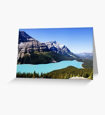 Peyto Lake, Canada Greeting Card