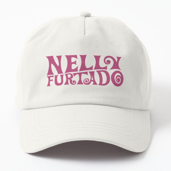 Nelly Furtado - Pink Logo - Whoa Nelly! Folklore Loose Dad Hat