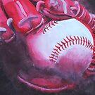 Monochromatic Ball & Glove by kruzadar