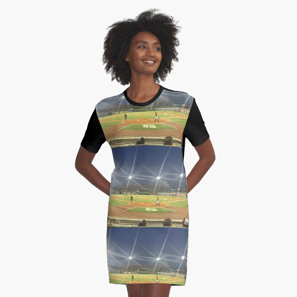 Take Me Out to the Ballgame Collection  Graphic T-Shirt Dress Front