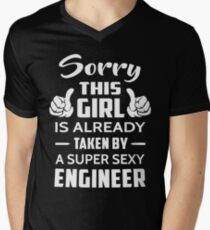 Sorry This Girl Is Already Taken By A Super Sexy Engineer T-Shirt