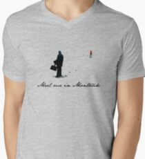 Meet Me in Montauk... Men's V-Neck T-Shirt