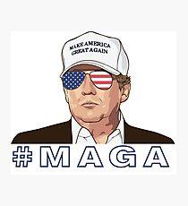 Trump - MAGA Photographic Print
