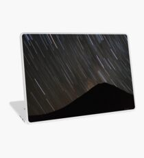 The stars wheel over Mt. Doom Laptop Skin