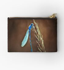 blue dragonfly Studio Pouch