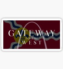 Gateway to the West Sticker