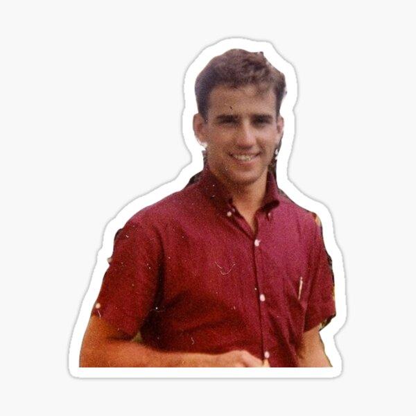 Young Joe Biden  Sticker