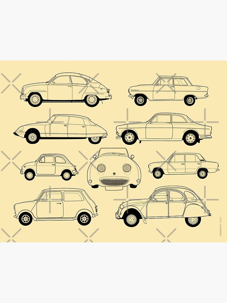 20th Century Classic Cars by thedrumstick