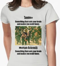 Zombies vs MS T-Shirt