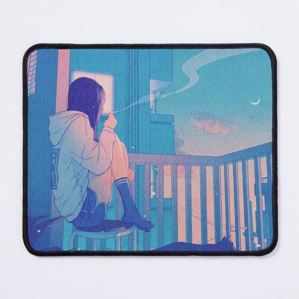 Lofi Art - Chill Night Mouse Pad