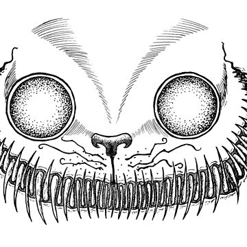 Cheshire Cat Grin by thecattshirts