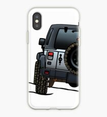 Jeep Wrangler JK iPhone Case