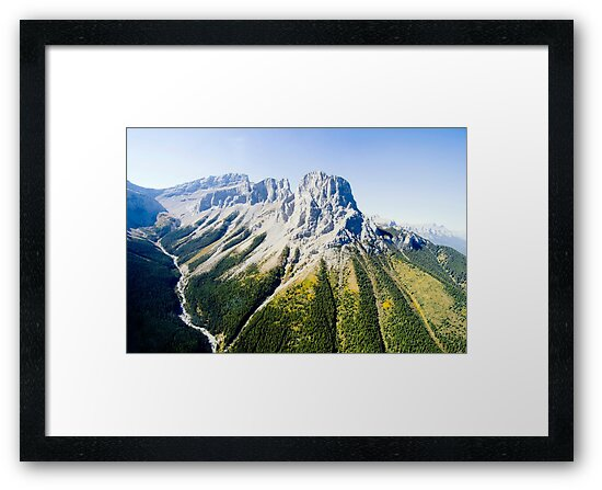 Banff mountain peaks by aurora-design