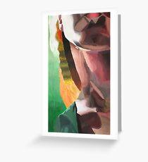 Impressionism Neck-Rianna Lindsey Greeting Card