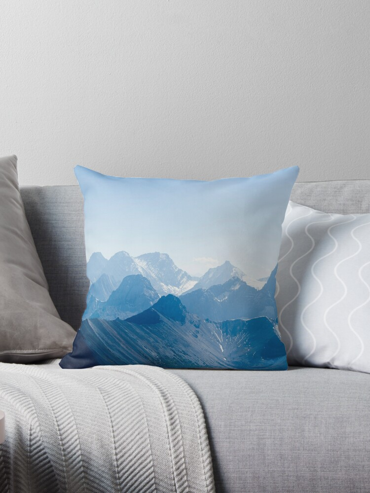 Mountains in Blue by aurora-design