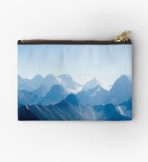 Mountains in Blue Studio Pouch