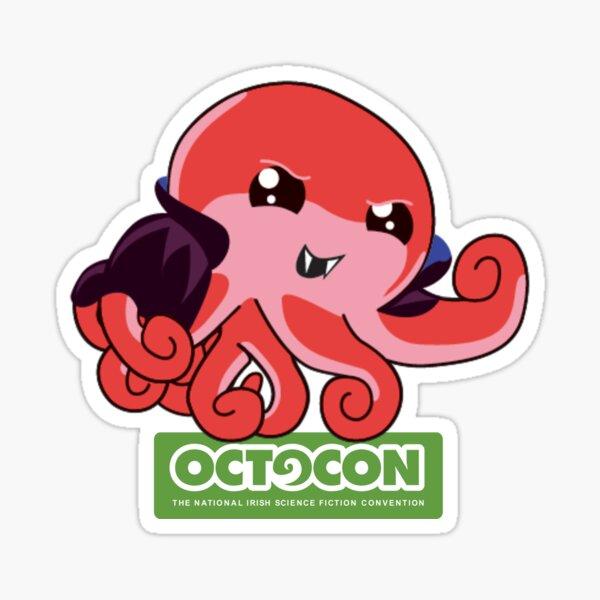 Count Octo Sticker