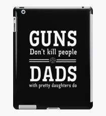 guns deads iPad Case/Skin