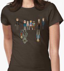 Camiseta entallada para mujer EXTRAÑO 8 BIT