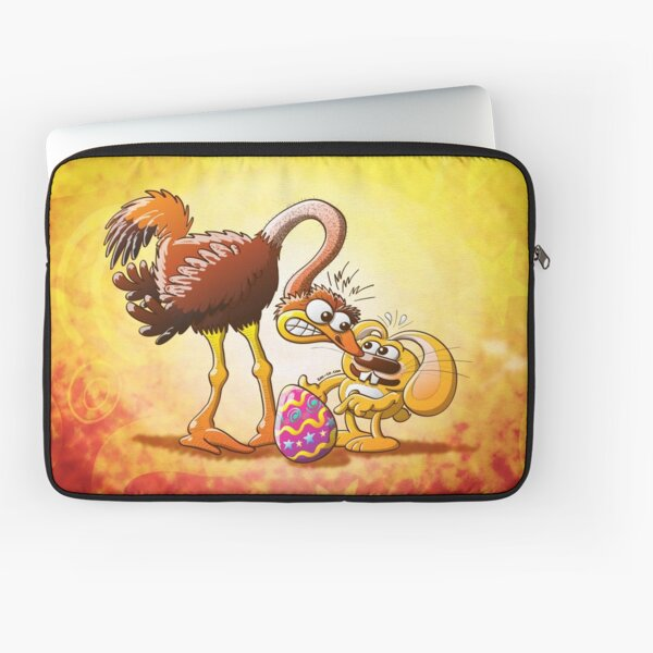 Ambitious Easter Bunny Laptop Sleeve