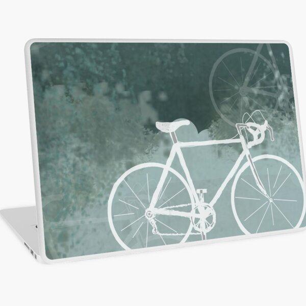 White Bikes Laptop Skin