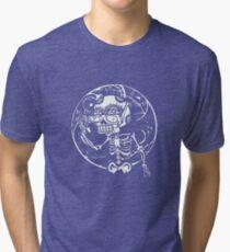 skull glasses Tri-blend T-Shirt