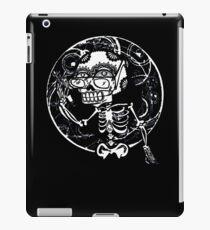 skull glasses iPad Case/Skin