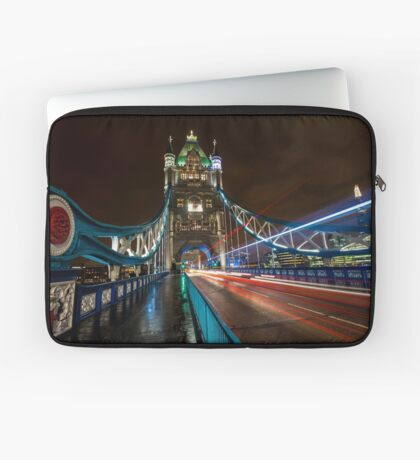 Welcome to Tower Bridge Laptop Sleeve