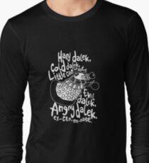 hard dalek Long Sleeve T-Shirt