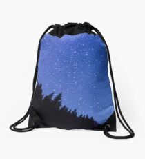 Oh Starry Night Drawstring Bag