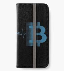 Bitcoin iPhone Flip-Case/Hülle/Klebefolie