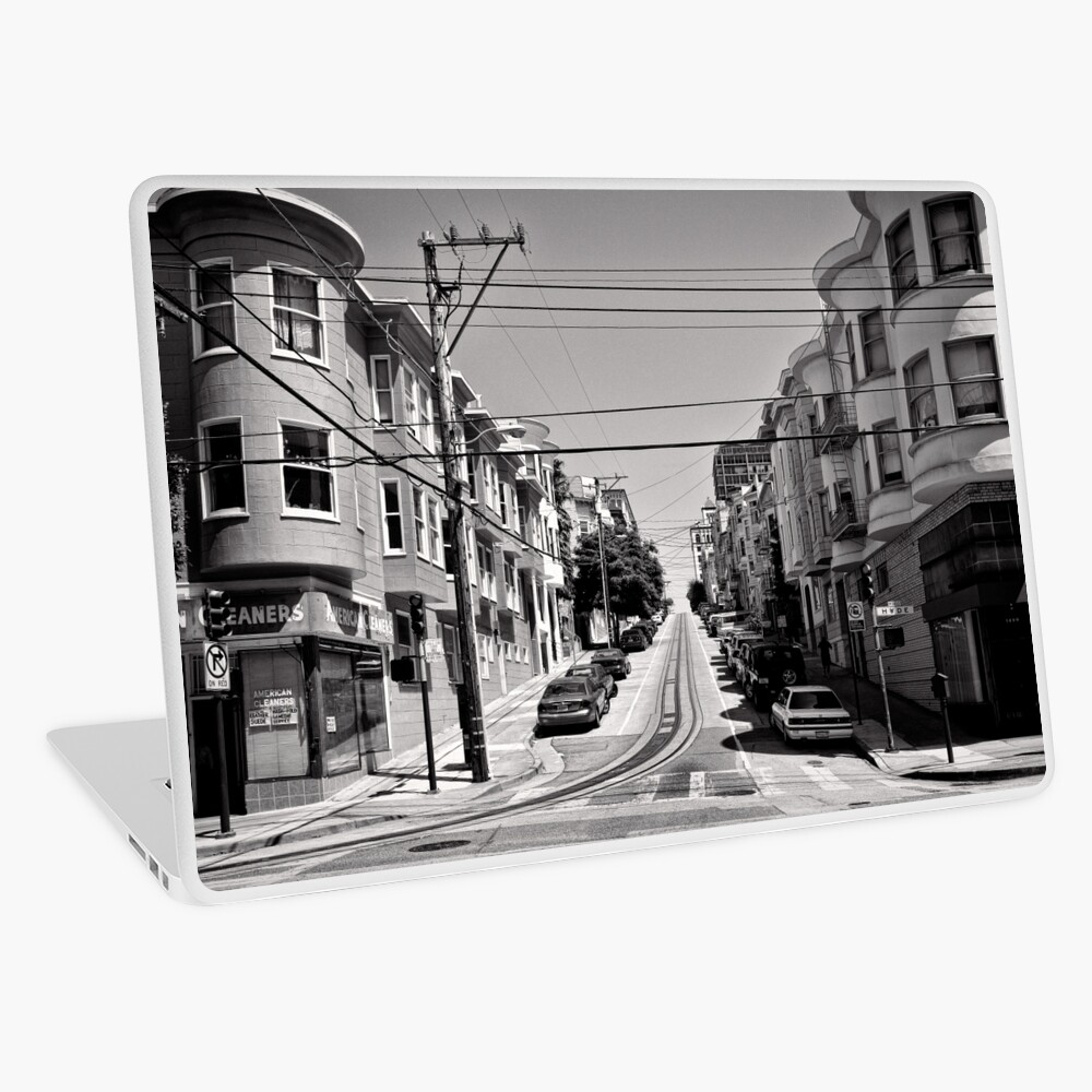 Cnr. Hyde and Washington. San Franscisco - USA Laptop Skin