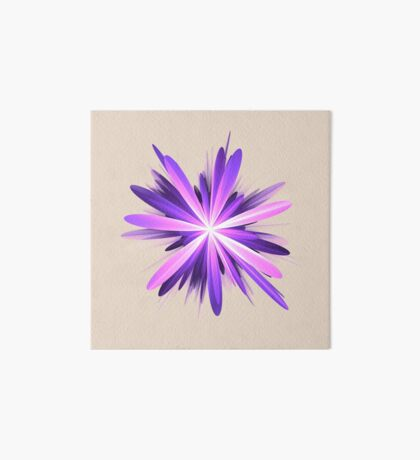 Flower blast #fractal art Art Board