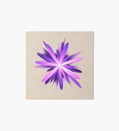 Flower blast #fractal art Art Board Print