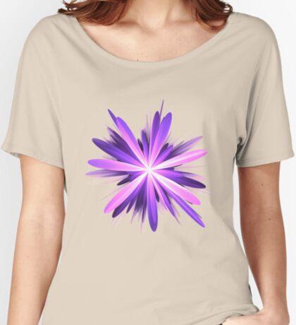Flower blast #fractal art Relaxed Fit T-Shirt