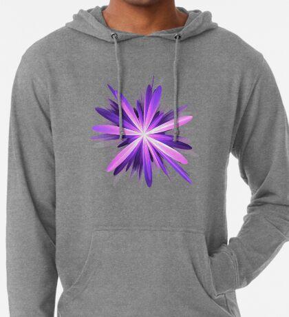 Flower blast #fractal art Lightweight Hoodie