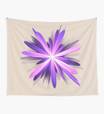 Flower blast #fractal art Wall Tapestry