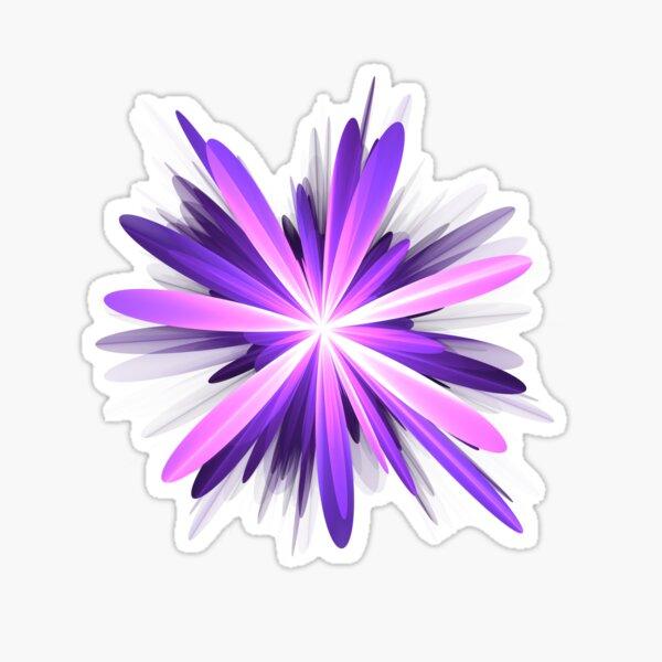 Flower blast #fractal art Sticker